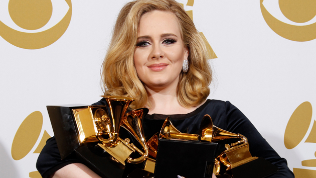 Adele was six Grammy awards in 2012. (Dan MacMedan, WireImage)