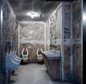 The recreation at the Met recalls the cleaner, halcyon days when the CBGB bathroom had two toilets, not one