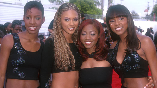 Destiny's Child in 1999. (Photo: SGranitz, WireImage)