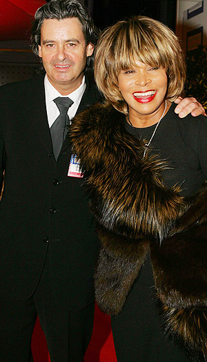 Tina Turner and Erwin Bach (Getty Images)