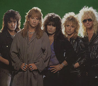Great White, in their heyday