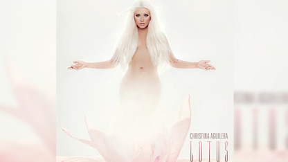 Christina Aguilera's album art for 'Lotus'