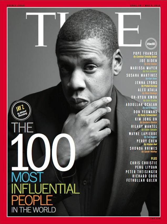 Jay-Z Among Seven Cover Subjects for Time's '100 Most Influential People in the World' Issue