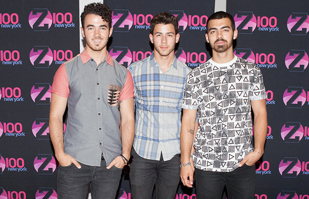 he Jonas Brothers performed LIVE for an intimate group of fans at the Z100 Studios in New York City. (Rachel Kaplan)
