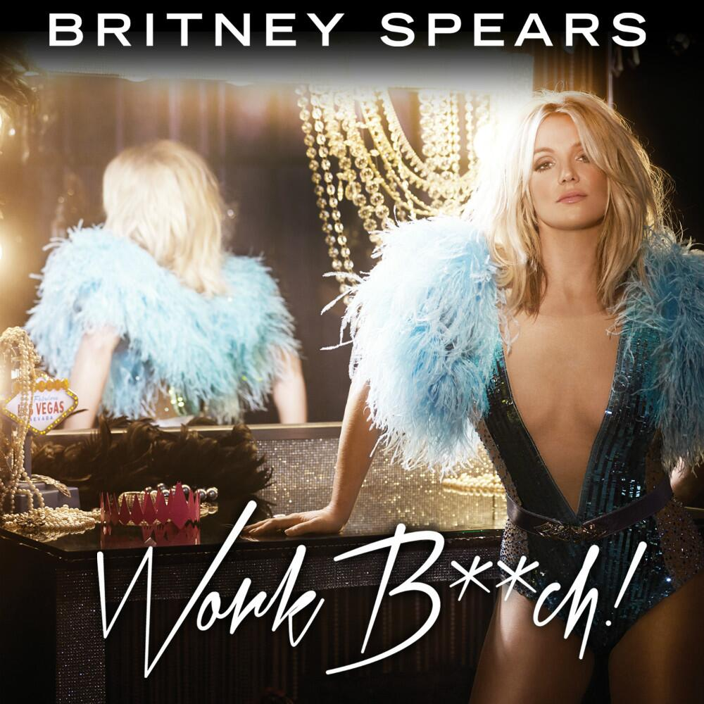 Britney Spears's 'Work B**ch' Single Art (Twitter)