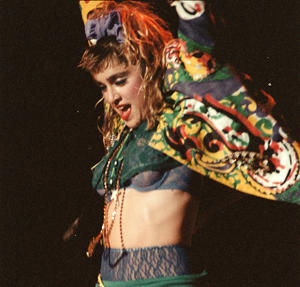 Underwear-as-outerwear was a big part of Madonna's look [Jim Steinfeldt Collection]