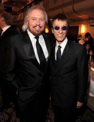 Barry & Robin Gibb in 2010  (photo: Kevin Mazur / WireImage)