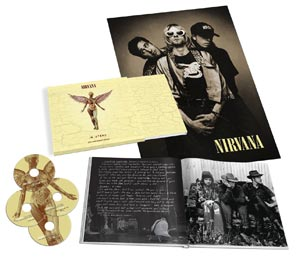 "Contents of the upcoming ""In Utero"" boxed set"