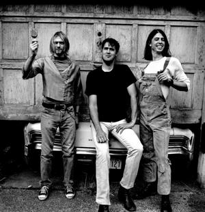Nirvana in 1993 [Photo by Anton Corbijn]