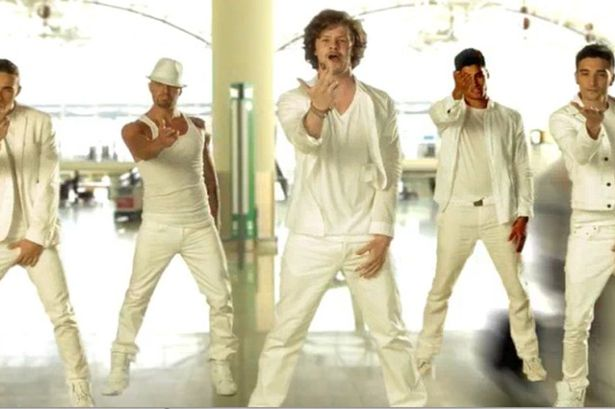 The Wanted as the Backstreet Boys