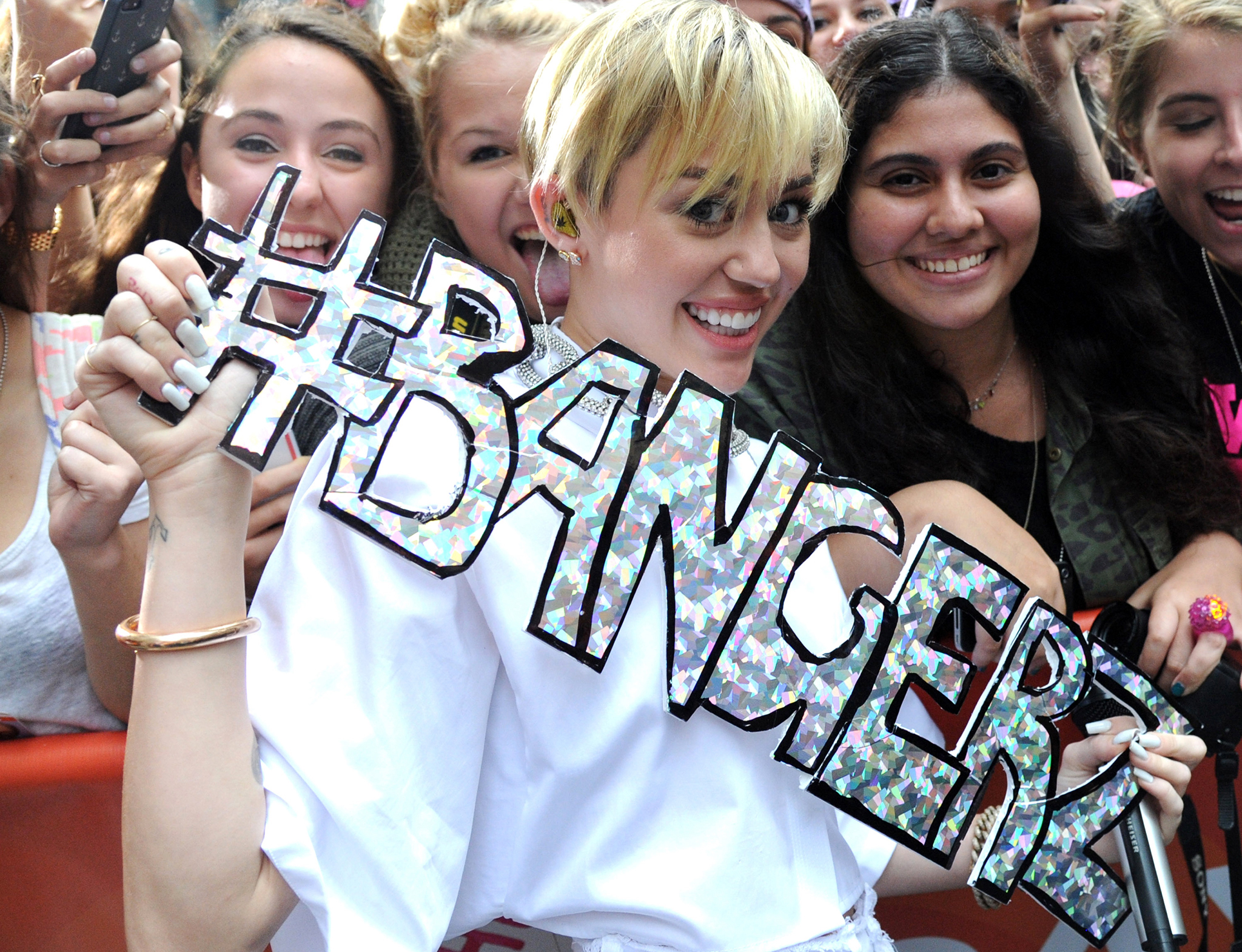 Miley Cyrus on the 'Today' show (WireImage)