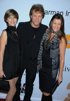 Jon and Dorothea with daughter Stephanie [Photo: Jeffrey Mayer/WireImage]
