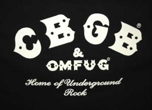 Look for the CBGB label