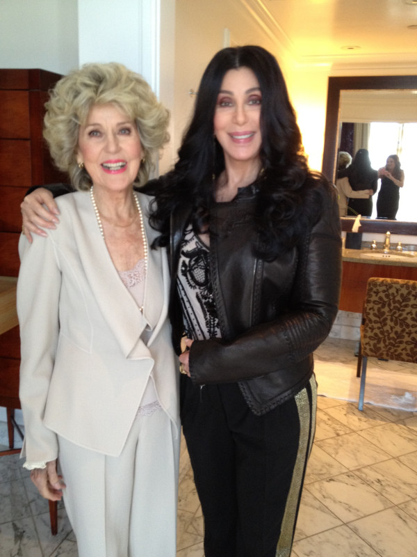 Cher and her Mom/Twitter