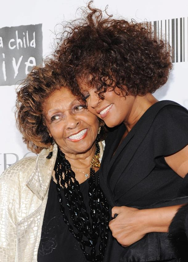 Cissy and Whitney Houston (photo: Stephen Lovekin/Getty Images)