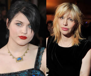 Frances Bean Cobain and mother Courtney Love [Photos: Steve Granitz/WireImage; Steve Lovekin/Getty Images]