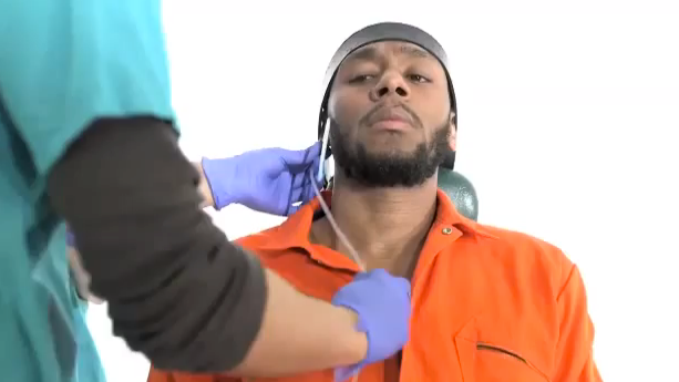 Mos Def Attempts Force-Feeding Procedure Used in Guantanamo Bay