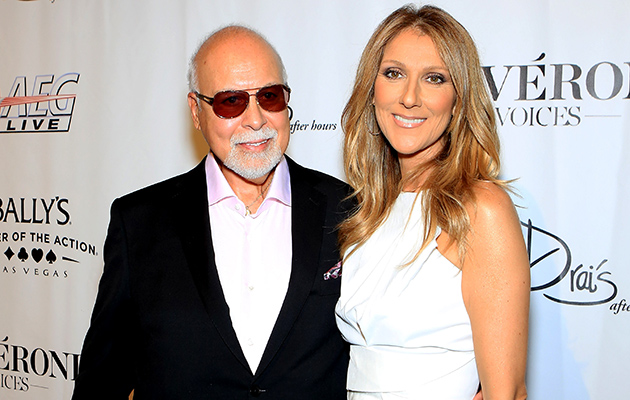 Celine Dion and Rene Angelil (Getty Images)