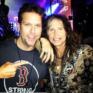Dane Cook and Steven Tyler [A Concert for Boston]