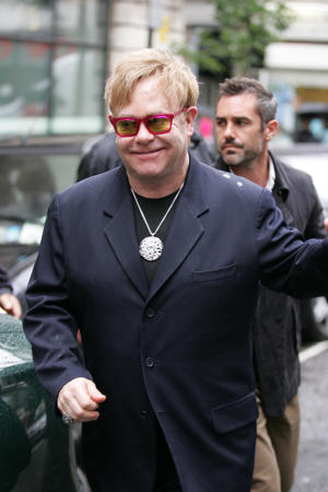 Elton John {Photo: Simon James}