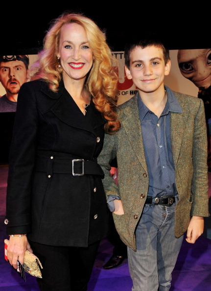 Gabriel Jagger and Jerry Hall, 2012 (Getty Images)