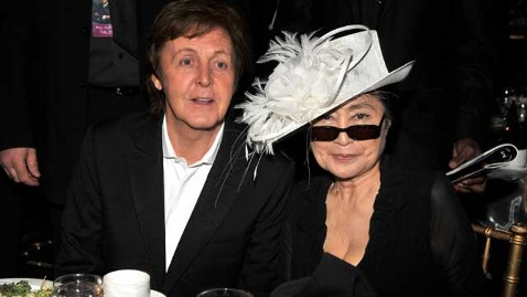 McCartney and Ono (Lester Cohen/WireImage/Getty Images)