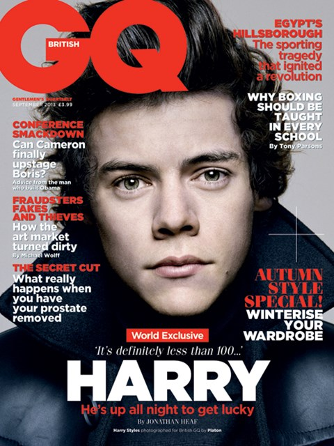 All covers courtesy British GQ