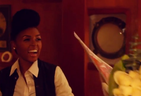 Prince Stuns Janelle Monae With Singing Telegram