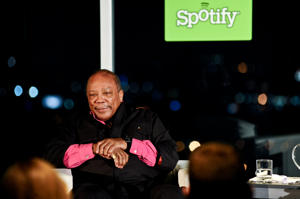Quincy Jones {Stefanie Keenan/WireImage}