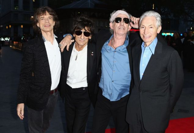 The Stones (Photo by Getty Images)