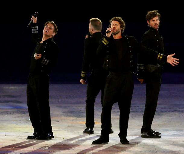 British boy band Take That comes in fifth, with $69 million [photo: Paul Gilham/Getty Images]
