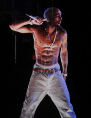 Tupac projection at Coachella [Photo: Photo by Kevin Winter/Getty Images for Coachella]