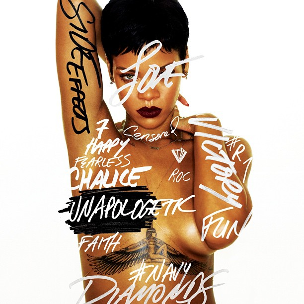Rihanna Tour Posters Too Titillating for Dublin Residents