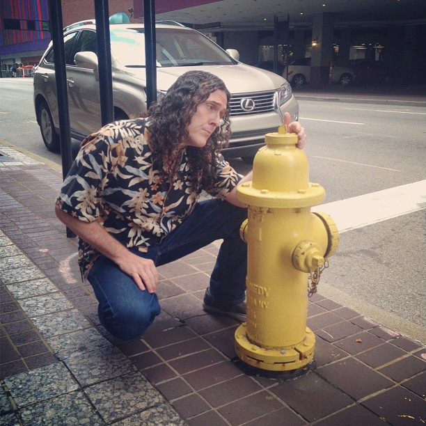 """Weird Al"" Yankovic's Instagram Takeover: Fire Hydrants, Hilarity Ensue"