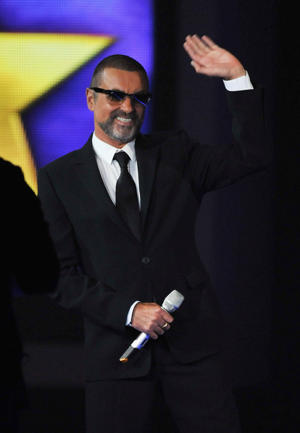 George Michael {Photo: Jon Furniss}