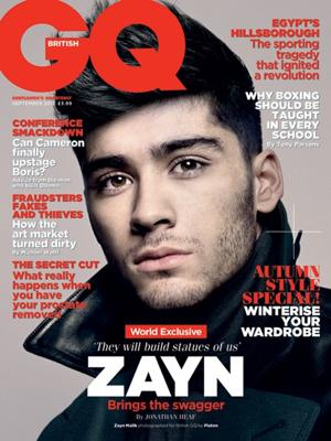 One Direction Get Five British GQ Covers