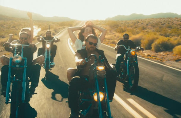 "Lana Del Rey Shows Her Roots Of ""Riding Motorcycles And Men"" In Her New Video ""Ride"""