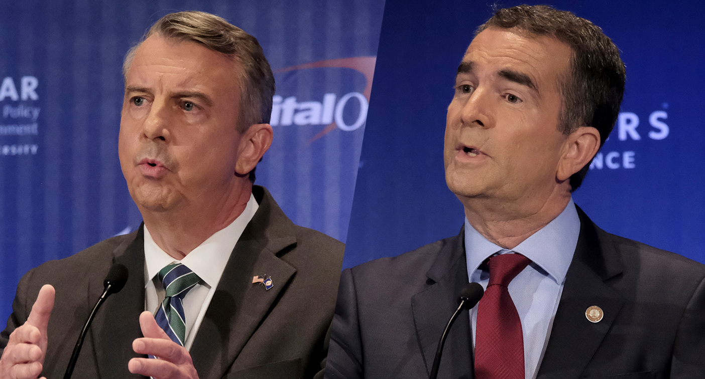 In Virginia campaign, civility yields to racial appeals