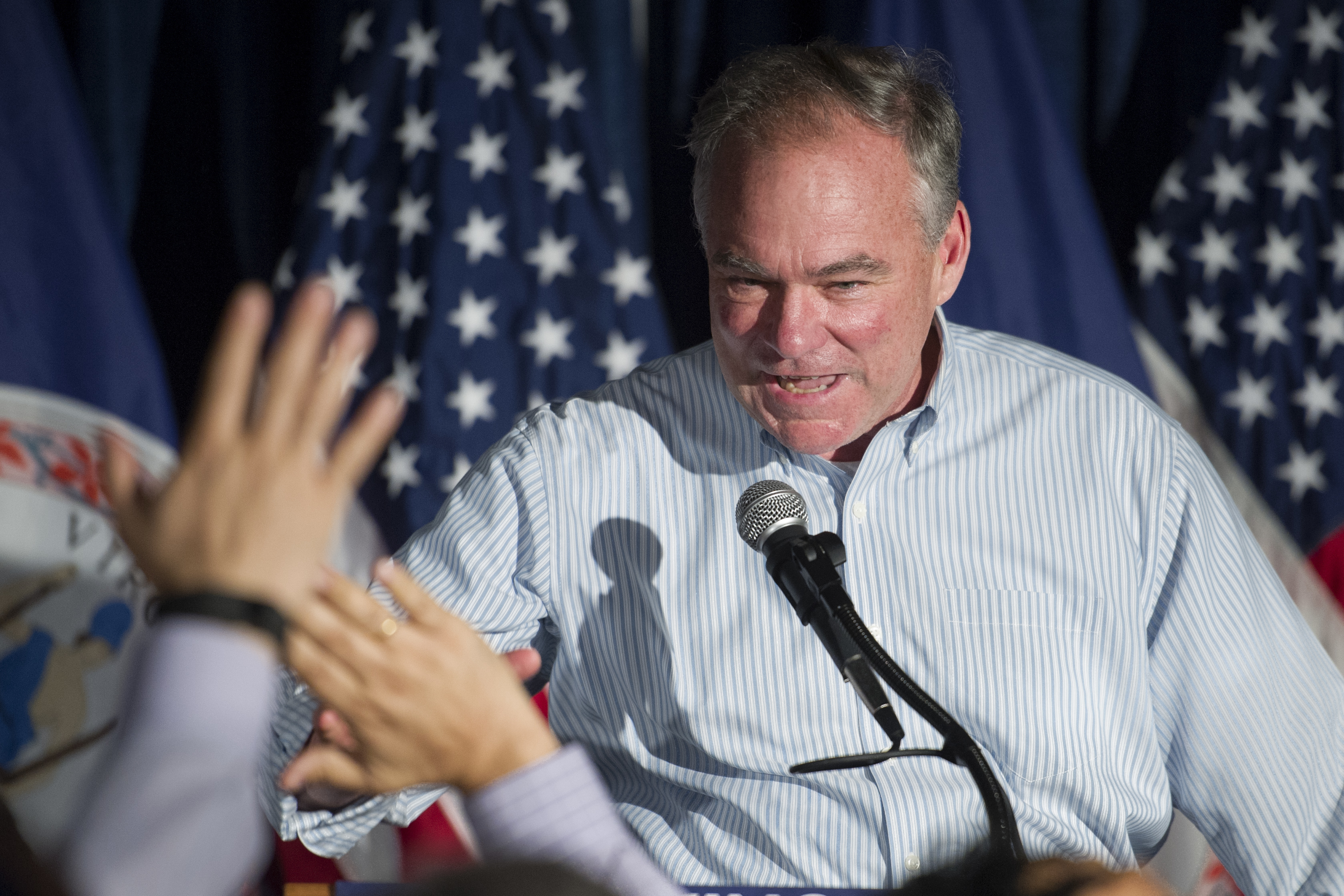 Tim Kaine: Virginia vote 'a repudiation' of Trump style