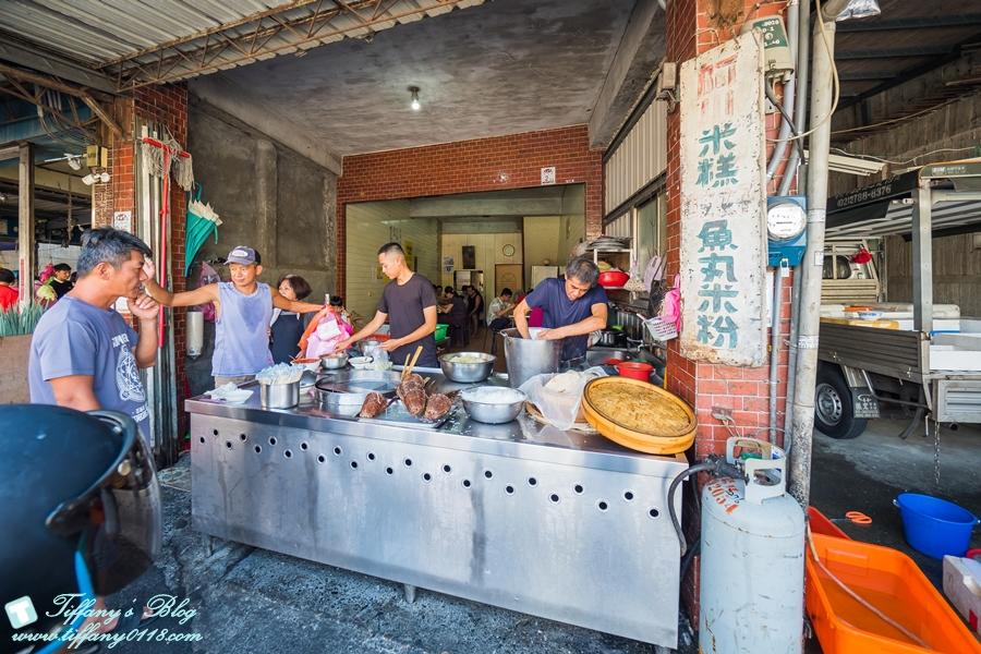 [宜蘭三星美食]阿川魚丸米粉米糕/在地人推薦傳統市場內的好吃早午餐