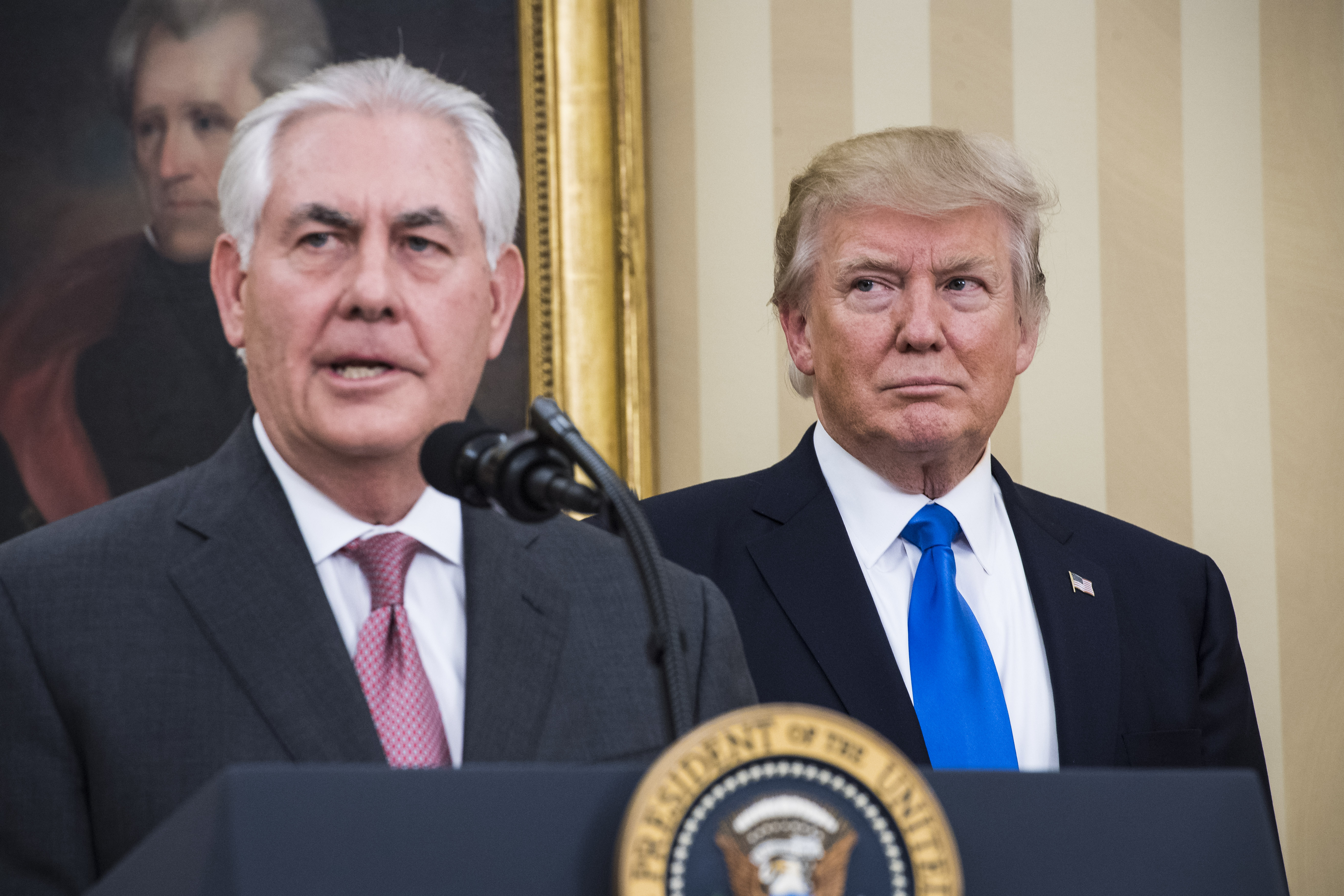 Trump: If Tillerson called me a moron, 'We'll have to compare IQ tests'