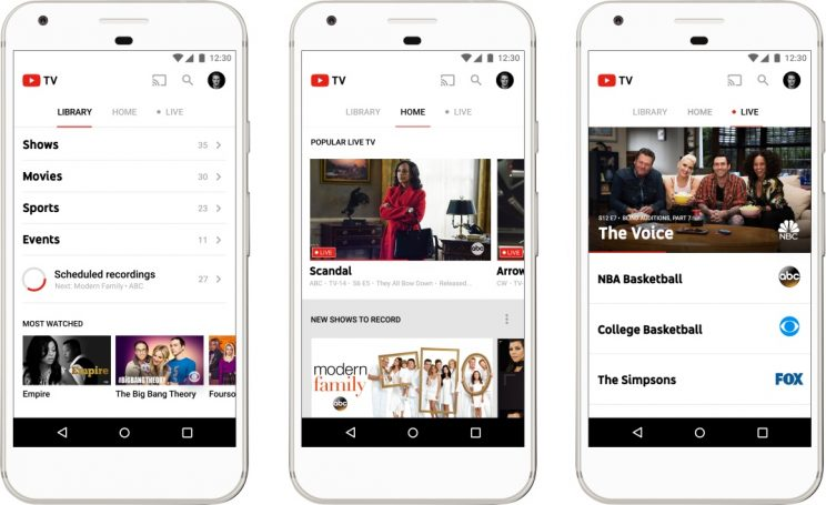 Google's new YouTube TV lets you watch cable for $35 a month