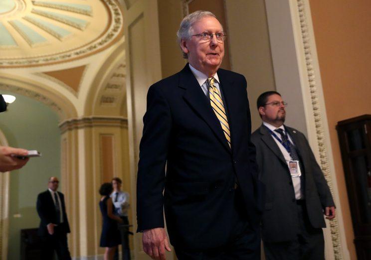 Senate GOP moves forward on health care bill in dramatic procedural vote