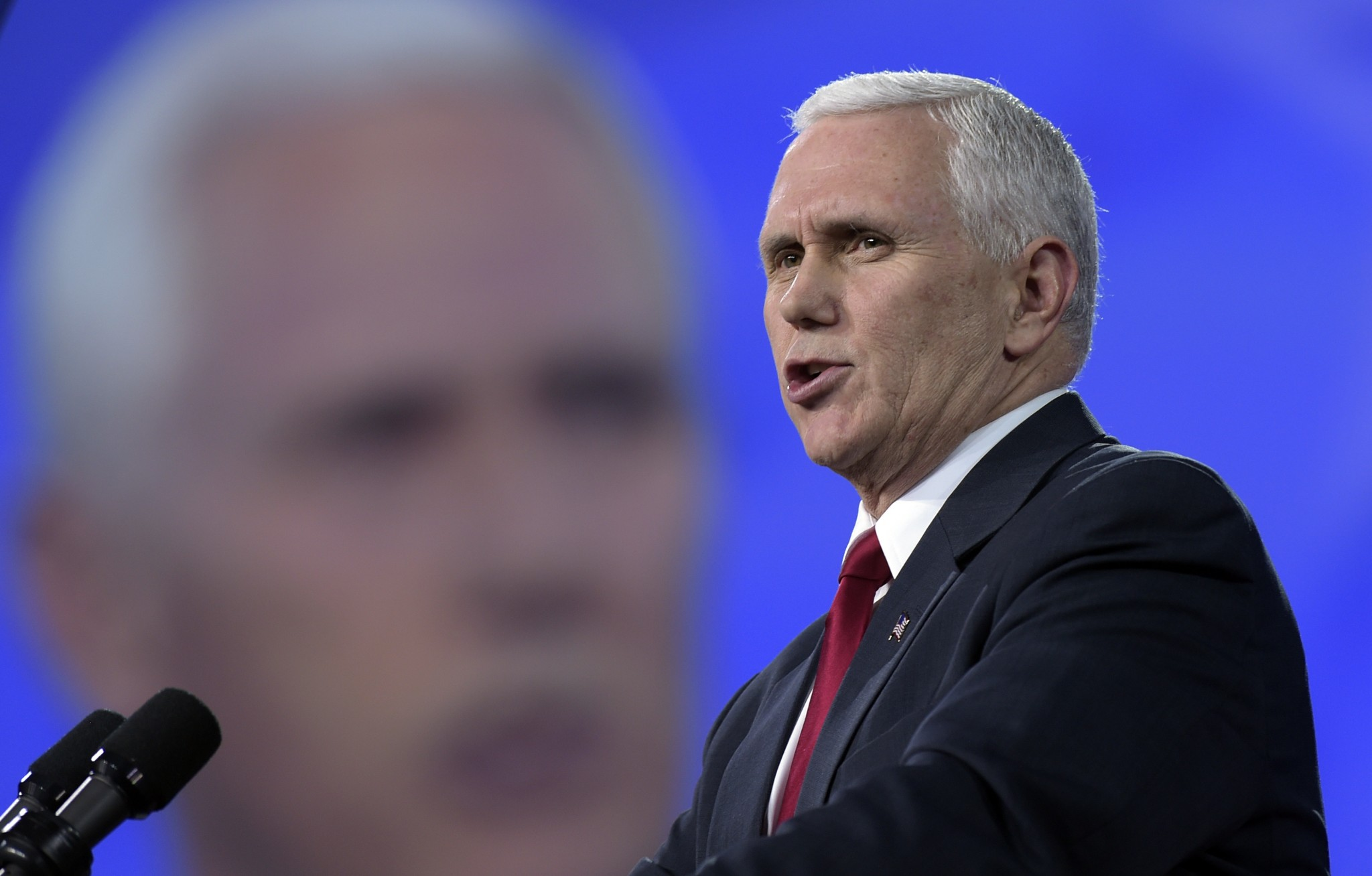 Vice President Pence downplays concerns over disruptions to health care