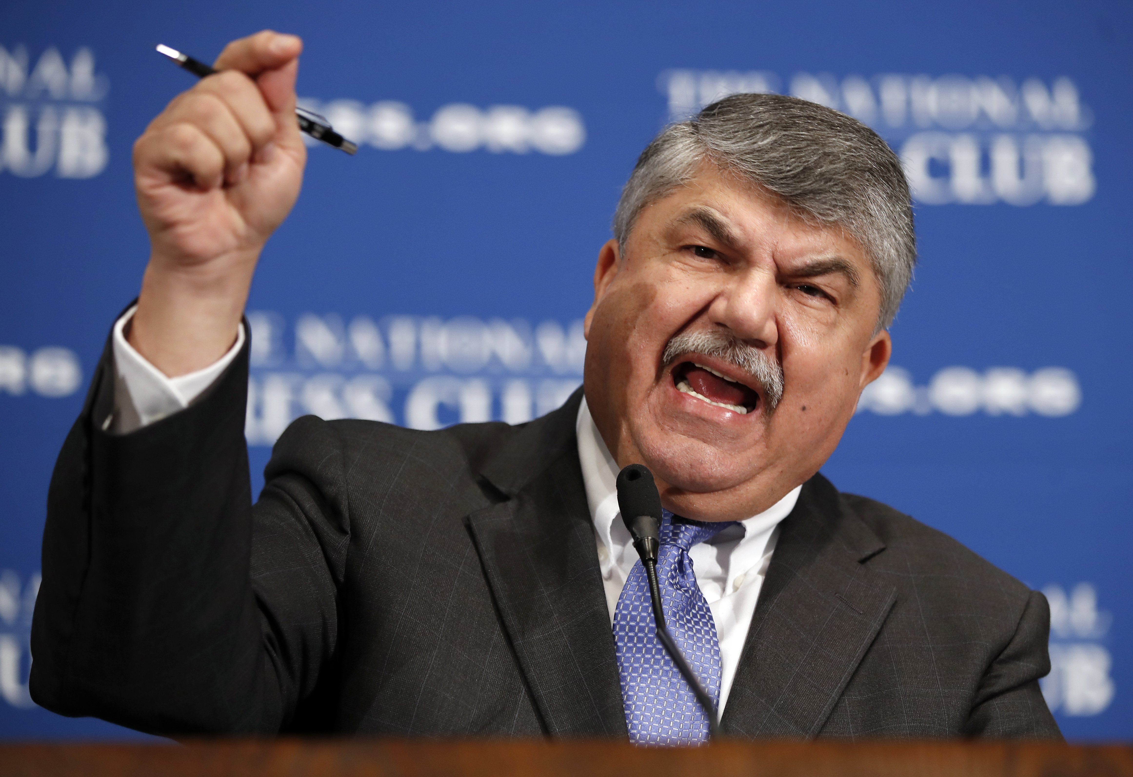 AFL-CIO leader bashes Trump's 'totally ineffective' business council after leaving it