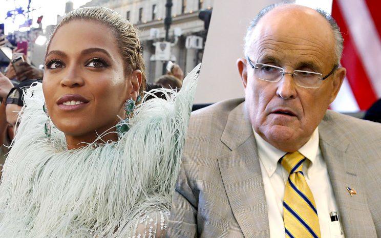 Giuliani on Beyoncé VMA routine: 'It's a shame'