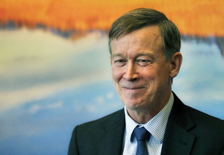 Colorado governor, once opposed, is softening his stance on legal pot