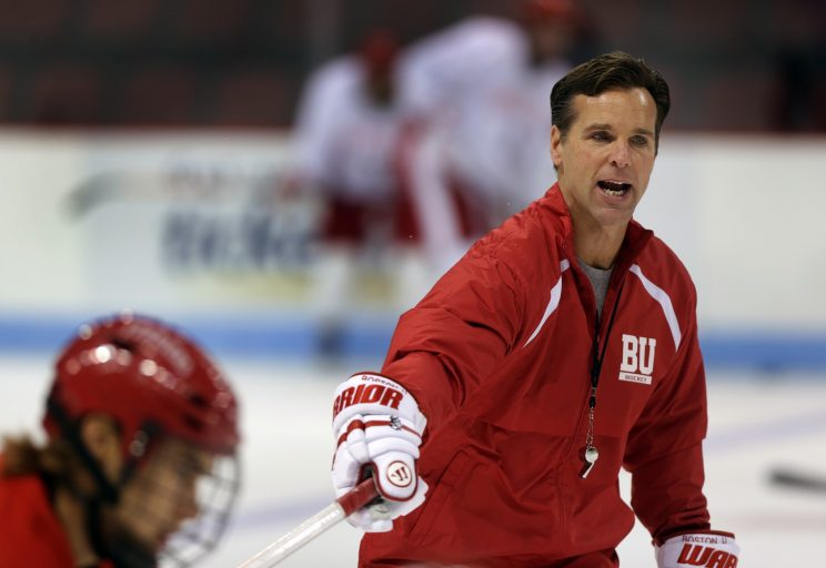 NCAA: Hockey 101 - Boston University Coach Battles Life As A Juggernaut