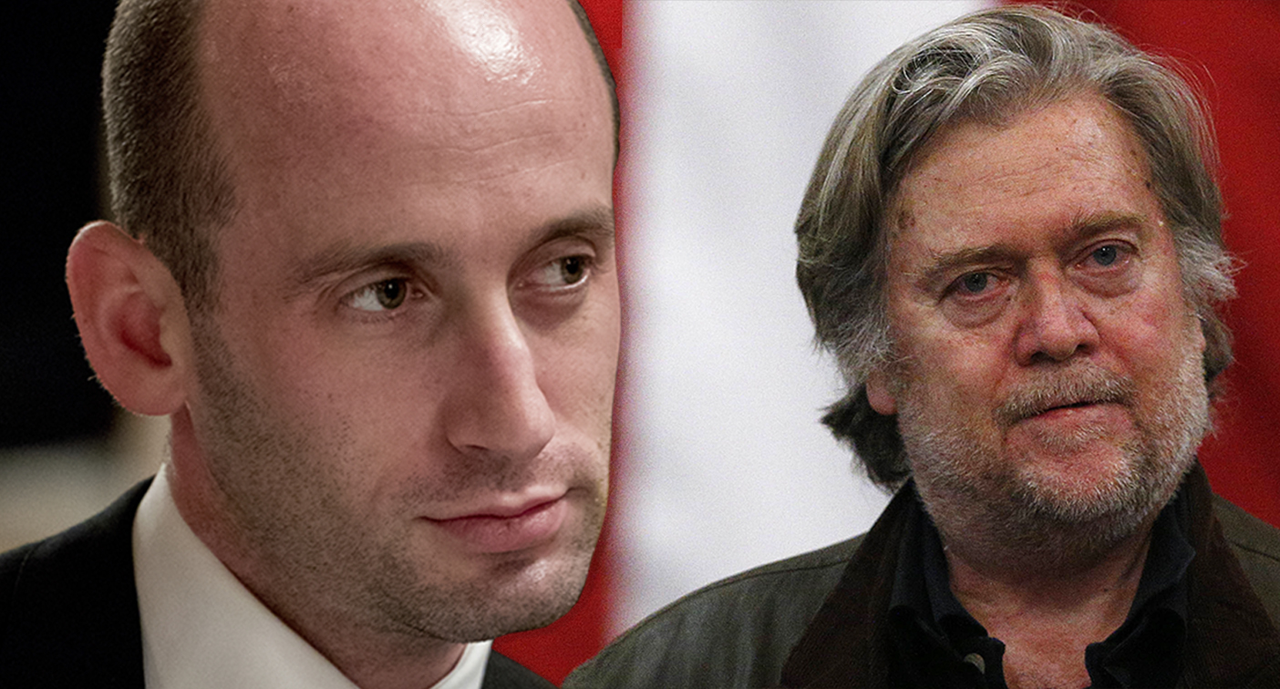 Stephen Miller calls Steve Bannon's comments 'out of touch with reality' and 'vindictive'