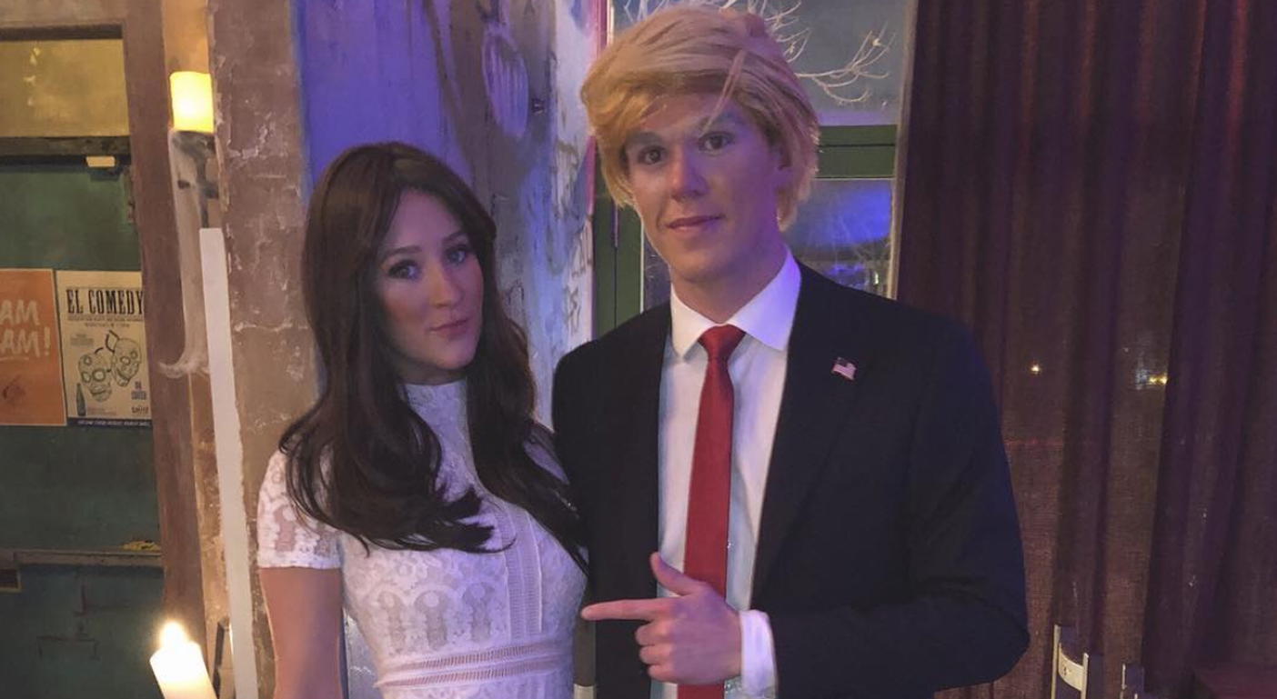 Connor McDavid Dresses Up As Donald Trump For Halloween